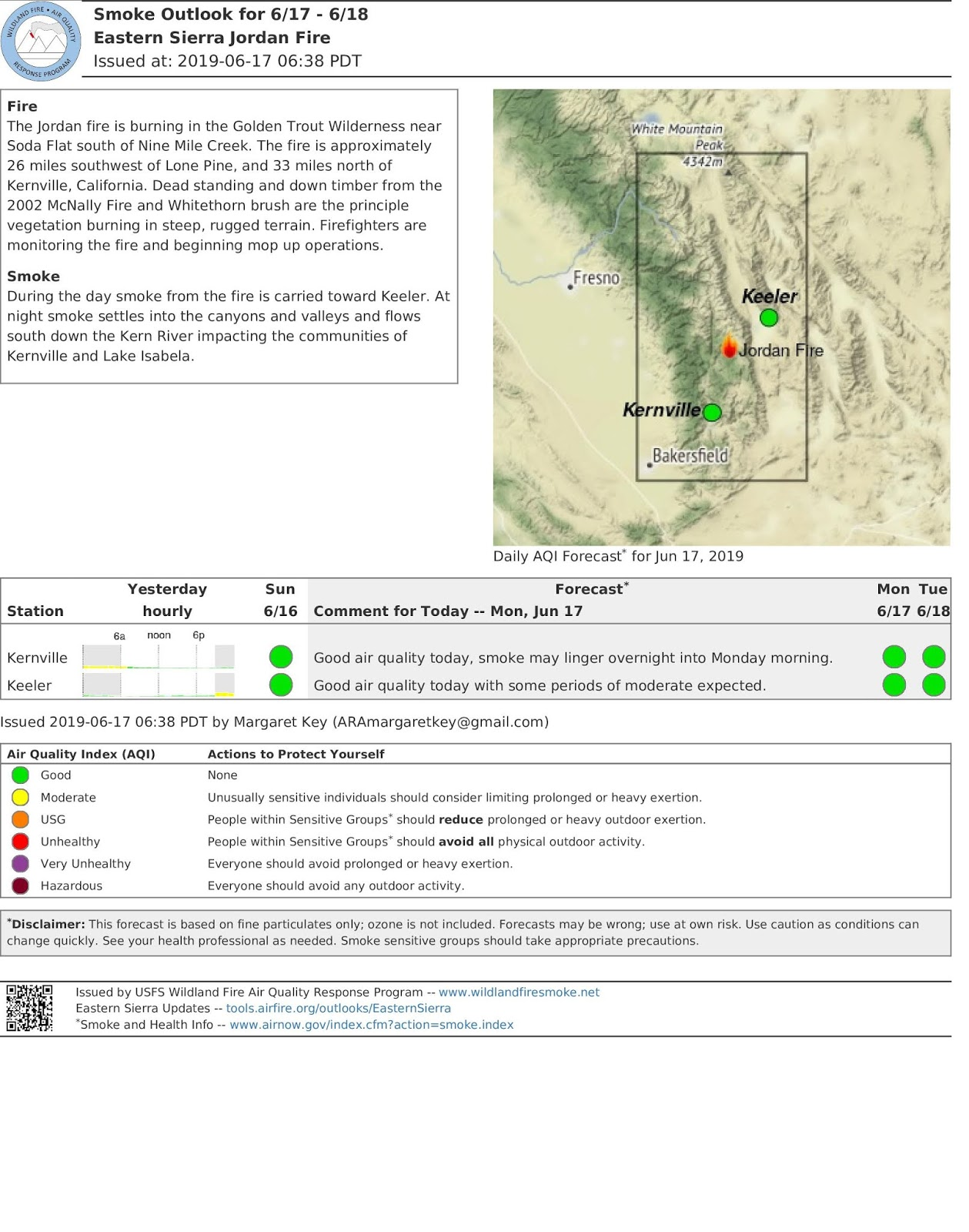 California Smoke Information on