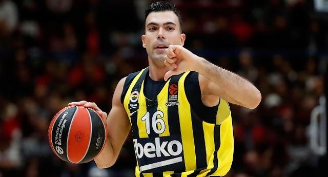 Fenerbahçe Beko'da Sloukas ile yollar ayrıldı