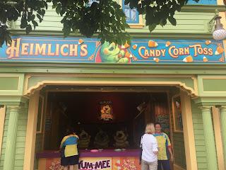 Heimlich's Candy Corn Toss Pixar Pier