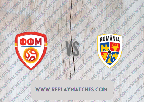 North Macedonia vs Romania -Highlights 08 September 2021