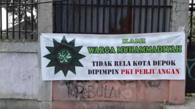 Dicatut Spanduk Provokatif, Pengurus Muhammadiyah Depok Lapor Polisi