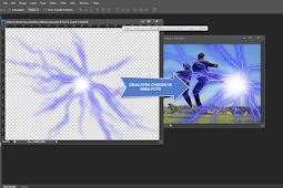 Cara Membuat Efek Cahaya Petir Chidori Dengan Photoshop