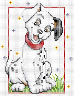 One Hundred and One Dalmat- cross stitch