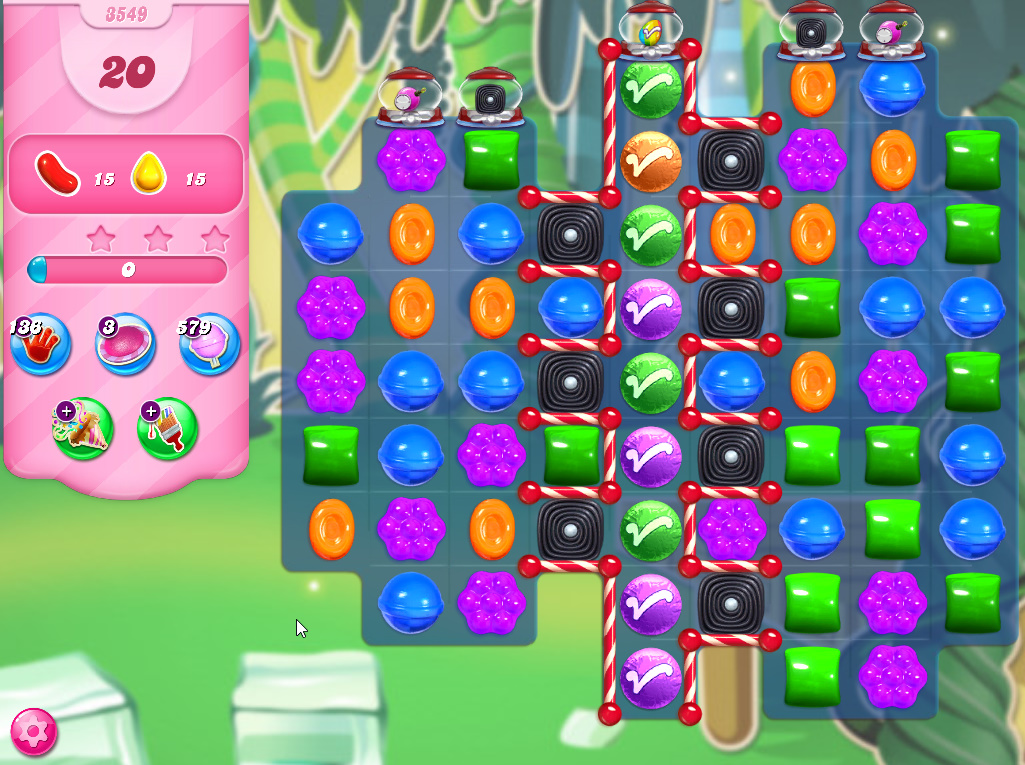 Candy Crush Saga level 3549