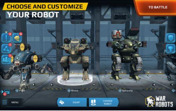 download war robot vip premium features new version