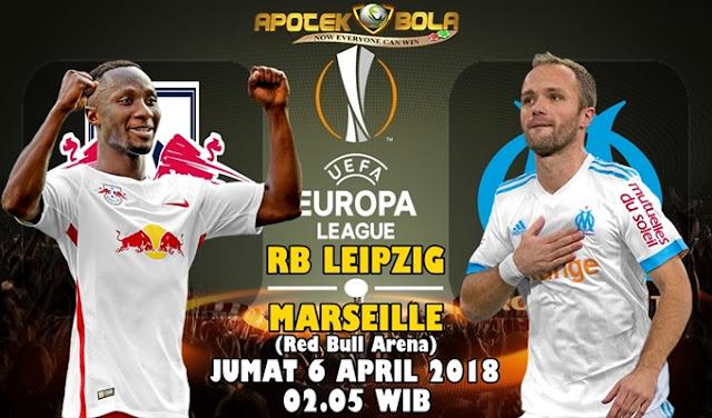 Prediksi Leipzig vs Olympique Marseille 6 April 2018