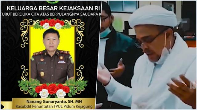 Jaksa Penuntut Habib Rizieq, Nanang Gunaryanto Telah Menghembuskan Nafas Terakhir