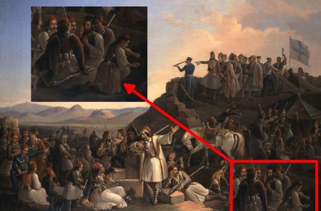 """Η άγνωστη ιστορία της Μαριώς από το Άργος που έζησε στο πλευρό του Καραΐσκάκη ως """"Ζαφείρης"""""""