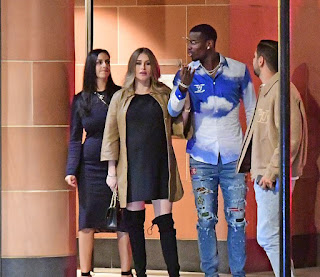 Paul Pogba and his pregnant wife relax in swanky London restaurant