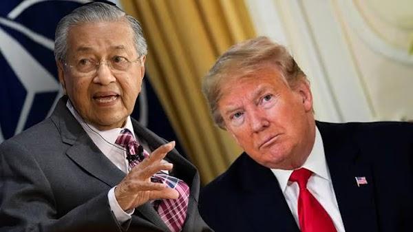 Mahathir Mohamad Sarankan Donald Trump Mundur