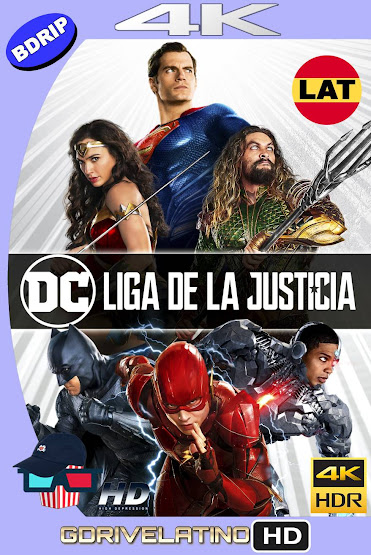 Liga de la Justicia (2017) BDRip 4K HDR Latino-Ingles MKV