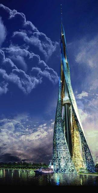 日本に高さ1700mのビルができる?世界中に建設予定、ハイパービルディング 【Architecture】  ドバイ・シティ・タワー