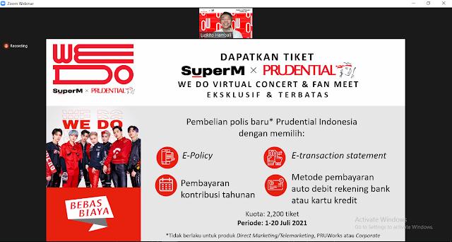 tiket PrudentialXSuperM We DO Virtual Concert & Fan Meet