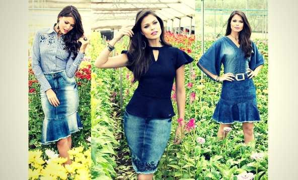 Saias Jeans Titanium Jeans