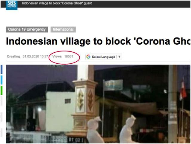 Pocong Jaga Lockdown