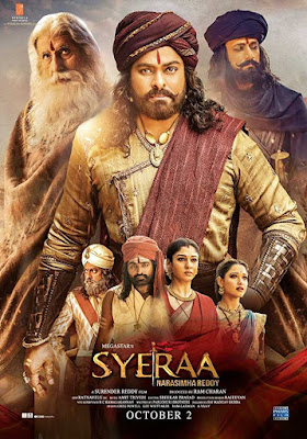 Poster Sye Raa Narasimha Reddy 2019 Hindi Dubbed HD 720p