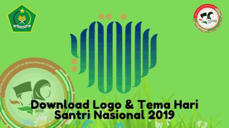 Download Kumpulan Logo dan Tema Hari santri 2019 Terbaru