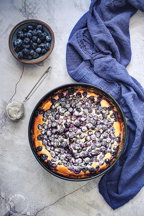 Pečeni čiz kejk sa borovnicama