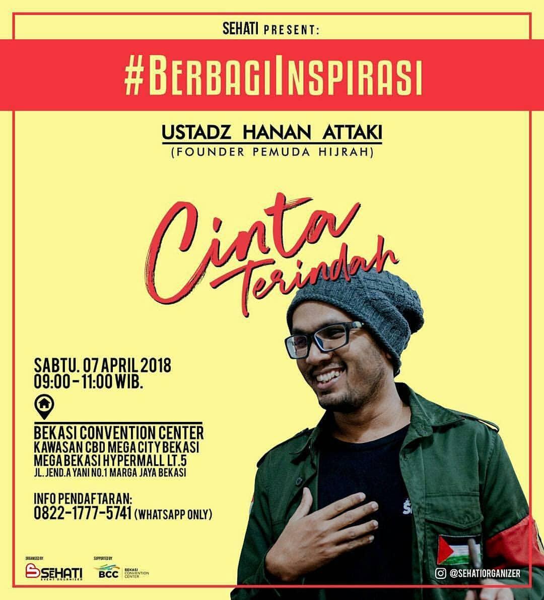 Ustadz Hanan Attaki Bekasi 7 April 2018