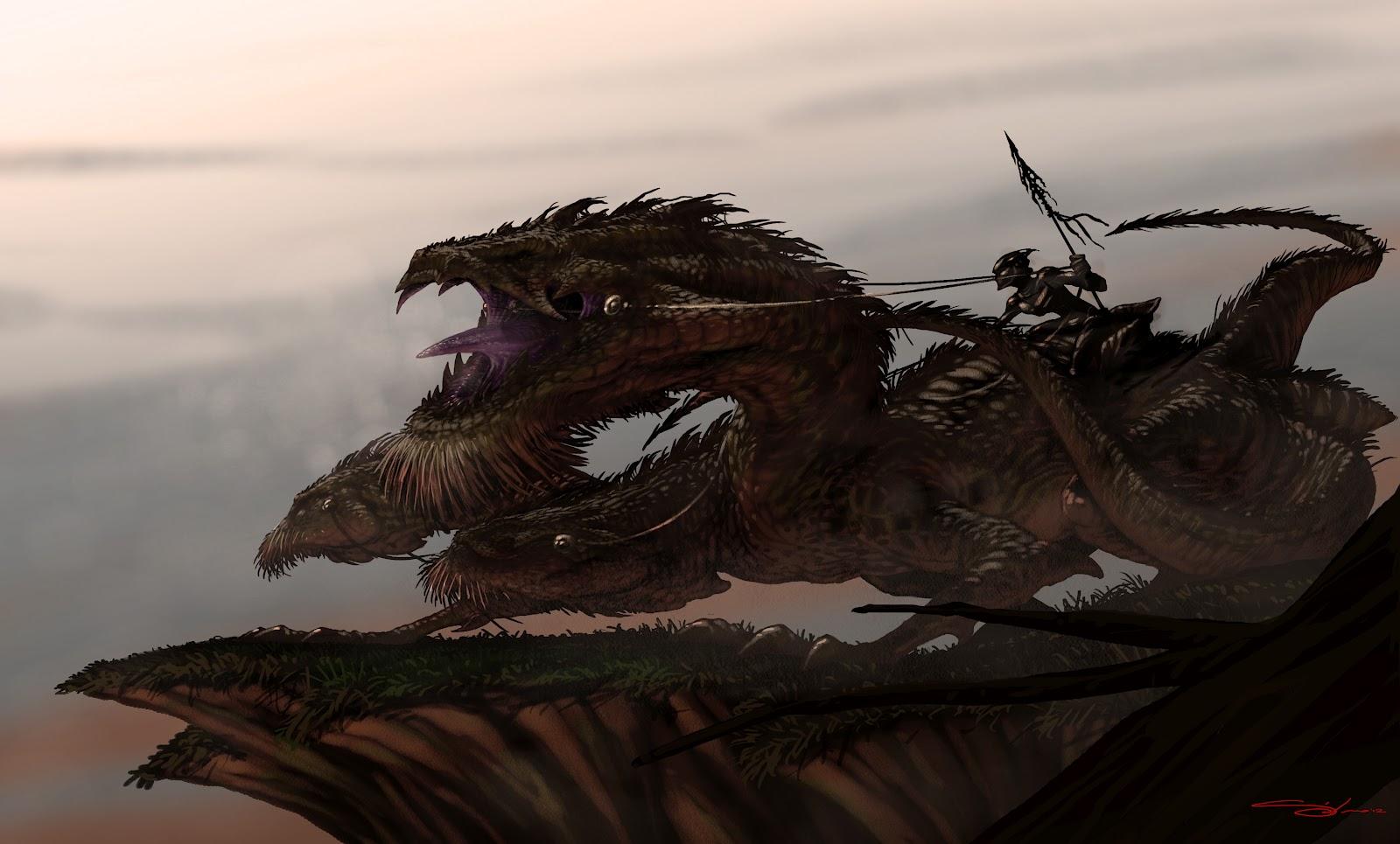 Frame slowpainting dragoon