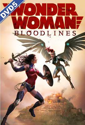 Wonder Woman Bloodlines 2019 DVD R1 NTSC Latino