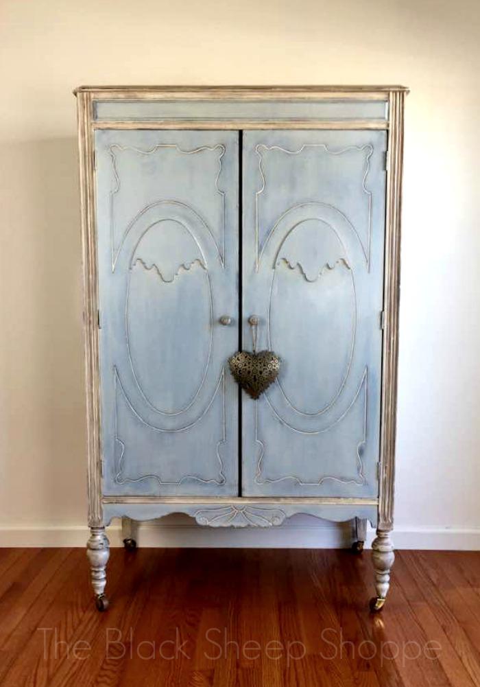 Vintage armoire.