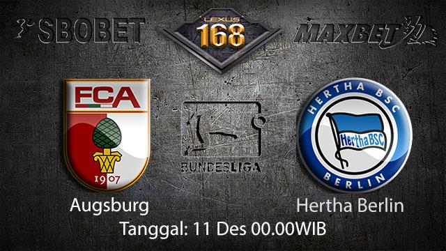 PREDIKSIBOLA - PREDIKSI TARUHAN BOLA AUGSBURG VS HERTHA BERLIN 11 DESEMBER 2017 ( BUNDESLIGA )