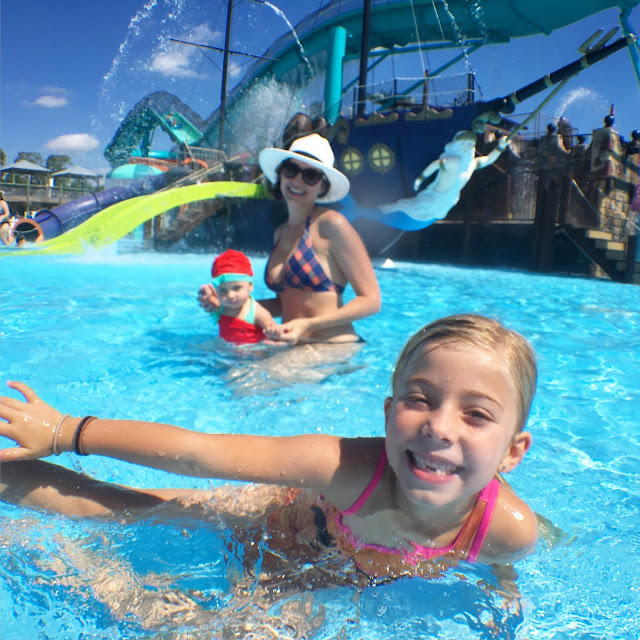 A Day at Adventure Landing's Shipwreck Island
