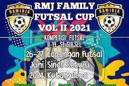 Sukseskan Family Futsal Cup Vol II 2021 se-Sulsel di Palopo