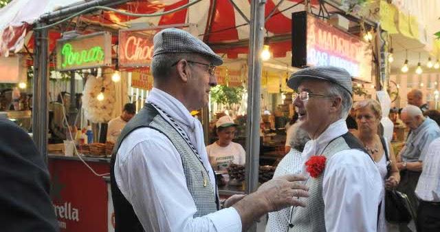 Madrid de verbena Las fiestas de la Paloma San Cayetano