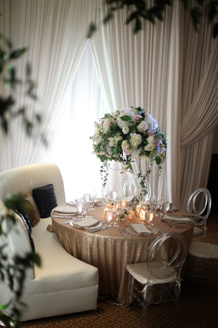 Naples florida luxury wedding details and reception decoration