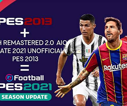 PES 2013 Patch Remastered Update Season 2021 V2 AIO