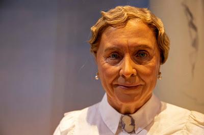 Helen Keller wax Statue