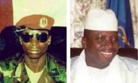 yahya jammeh 22 years ago