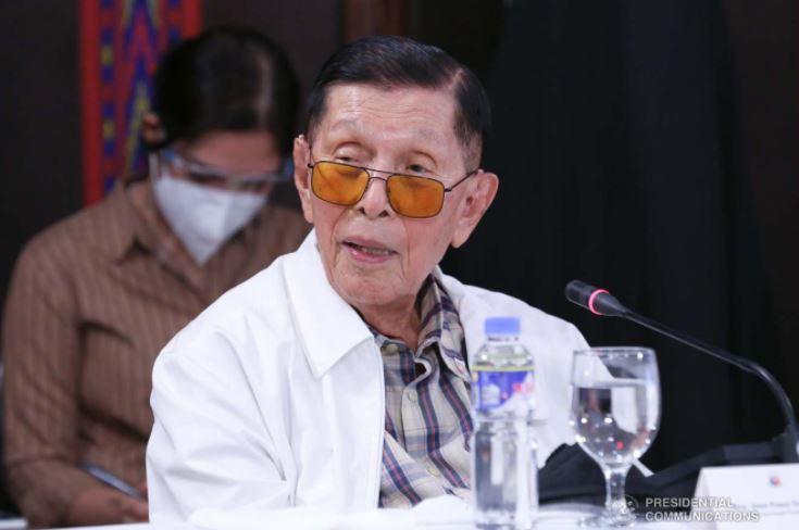 Enrile lauds Duterte's approach in West Philippine Sea