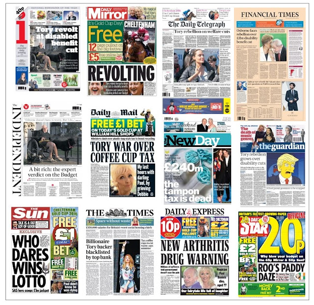 front pages 18-03-16