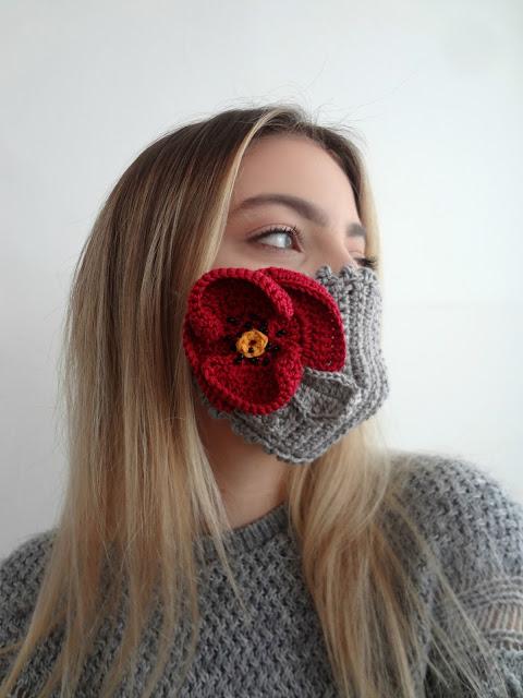Bohemian Flower Masks – crochet pattern