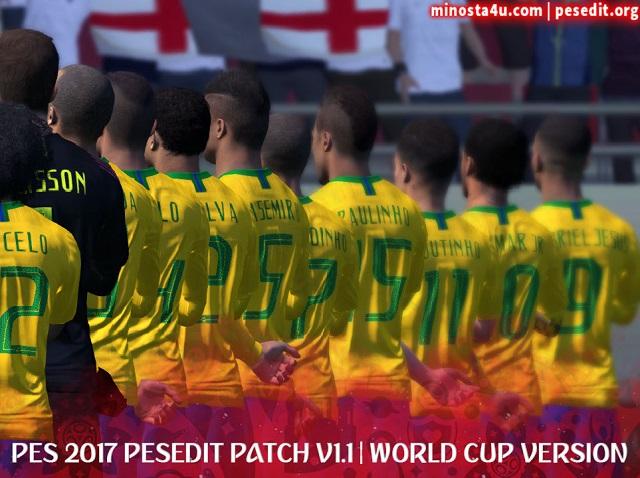 تحديث كأس العالم روسيا 2018 لباتش PESEdit الإصدار الأول 2018 لبيس 17