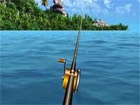Permainan Memancing Ikan Besar Di Laut