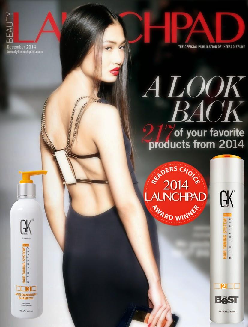 Award-winning GKhair hair-taming treatments are available at Salon 1580