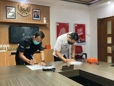 SMK TI Bali Global Badung dan Telkom, Tandatangani Kerjasama