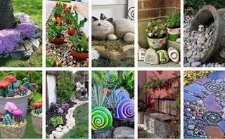 STONE OUTDOOR IDEAS