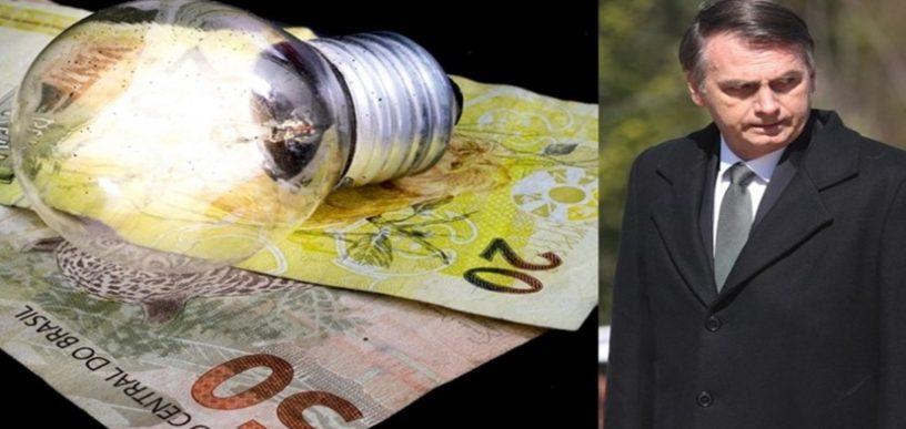 Luz terá redução histórica após Bolsonaro pagar dívida do governo Dilma