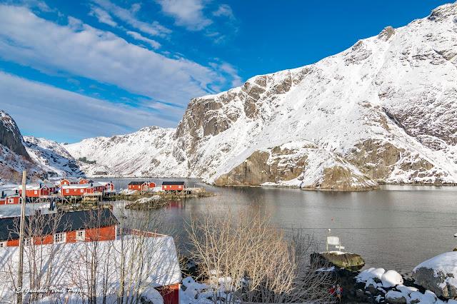 Lofoten, rorbuer en Nusfjord por El Guisante Verde Project
