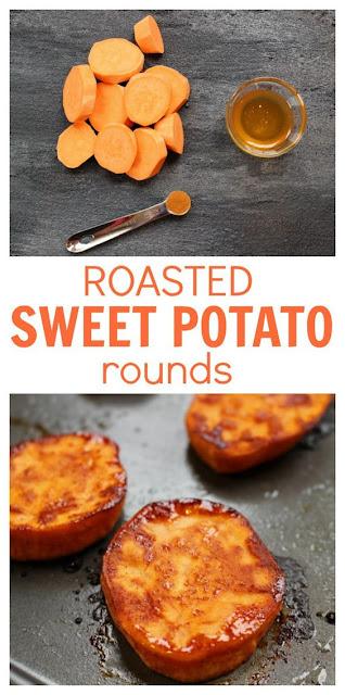 Roasted Sweet Potato Rounds