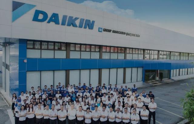 Informasi Terbaru Lowongan Kerja PT Daikin Airconditioning Indonesia