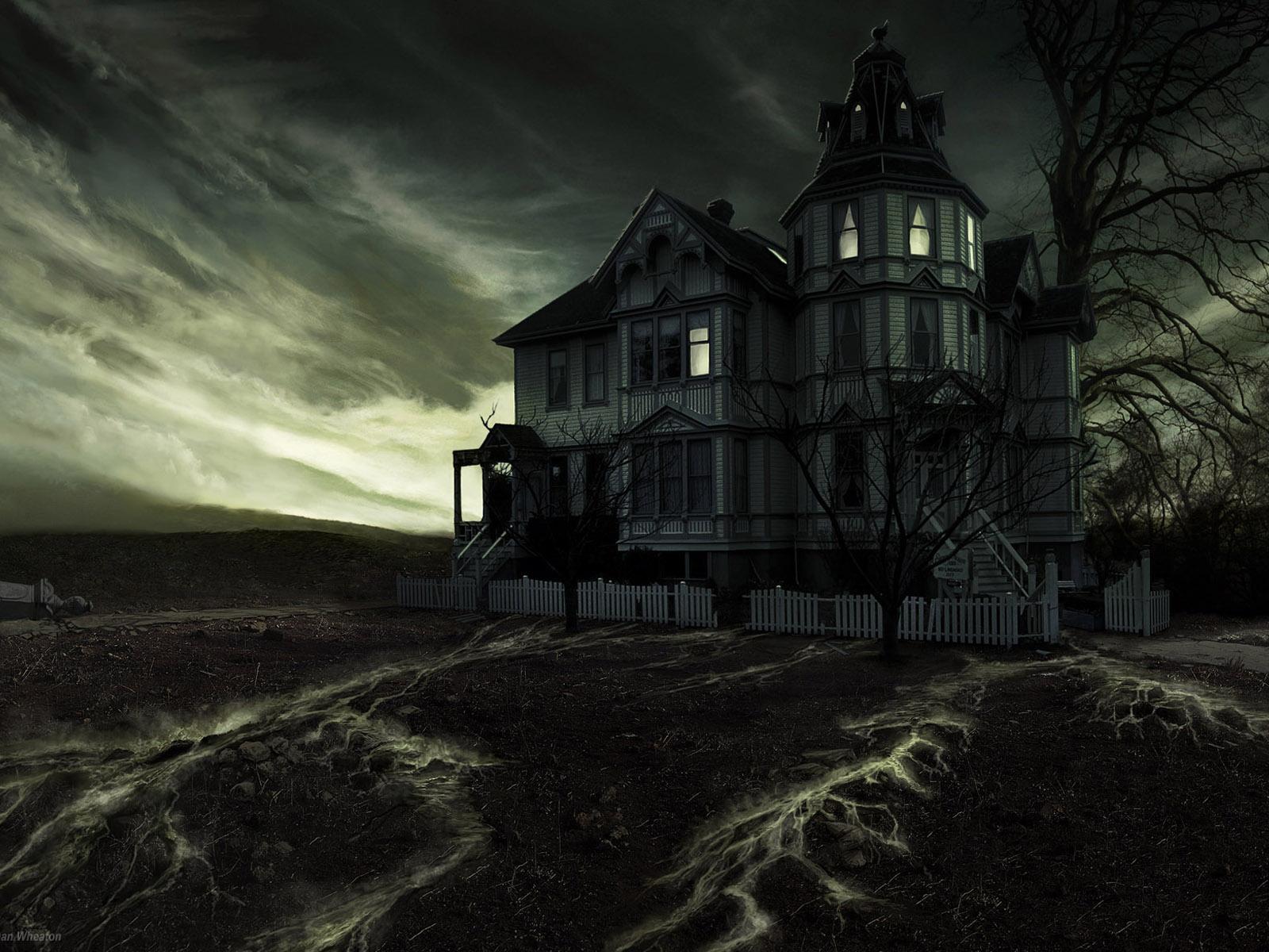 Dark House Art Concept