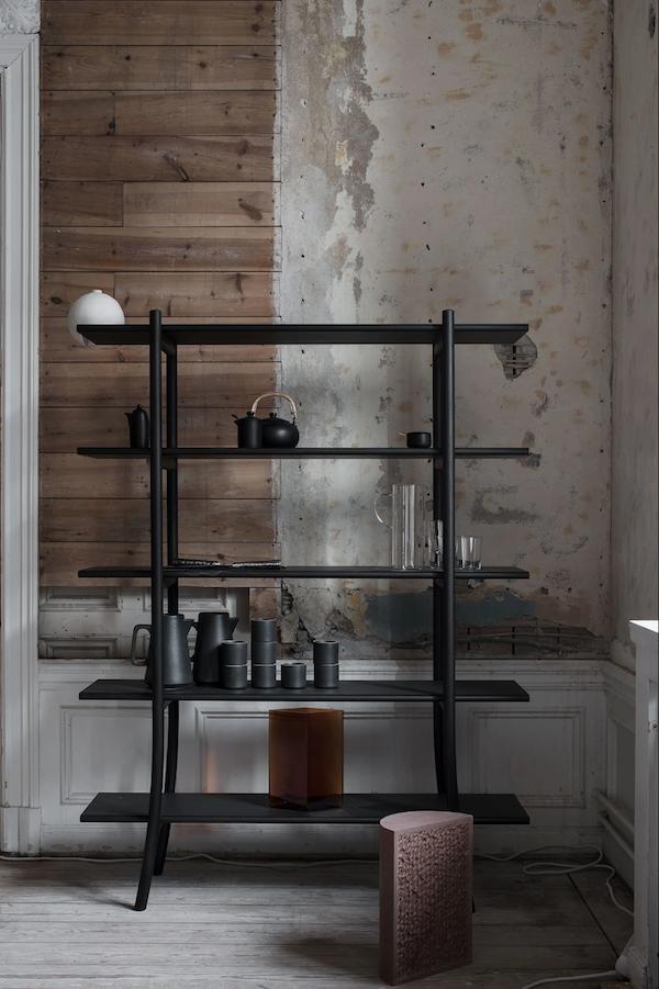 Sky Ladder bookshelf by Gabriel Tan Design