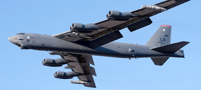 US Air Force B-52 strategic bomber