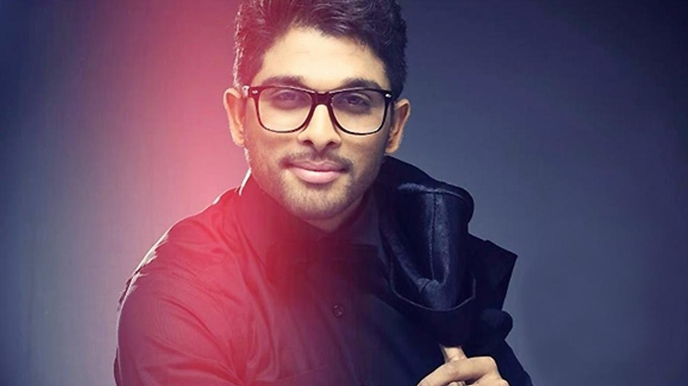 stylish star allu arjun voice over for nenu local film | latest